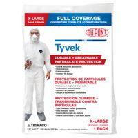 COVERALL PAINT TYVEK X-LARGE