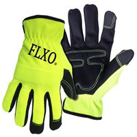 GLOVES HI-VIS MENS TCHSCRN MED