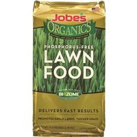 FERTILIZER LAWN ORGANIC 15LB