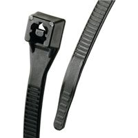 CABLE TIE 11IN BLACK 100/BAG