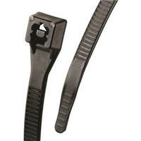 CABLE TIE 14IN BLACK 100/BAG