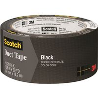 Scotch 1020-BLK-A Colored Duct Tape