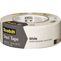 Scotch 1060-WHT-A Colored Duct Tape