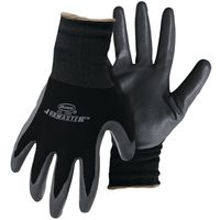 GLOVE NYLON W/NITRILE PALM M
