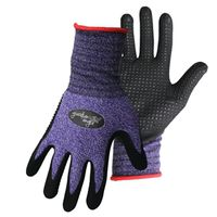 GLOVE NITRILE DOTTED PALM SM