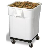 Continental Commercial 9332 Square Ingredient Bin With Snap-On Lid