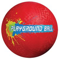 KICK BALL RUBBER 8-1/2 INCH