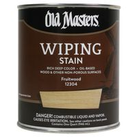 Old Masters 12304 Oil Based Wiping Stain
