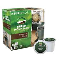 KCUP BREAKFAST BLEND LT 18CT