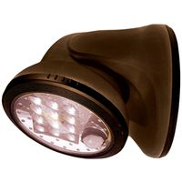 PORCH LIGHT 12 LED BRONZE