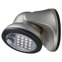 LIGHT PORCH SILVER 400LUMEN