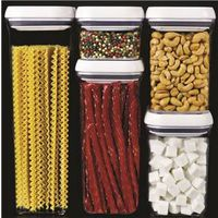 OXO 1165600 5-Piece Square Pop Container Set