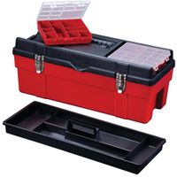 Stack-On Deluxe Tool Box With 2 Removable Parts Box