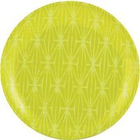 PLATE SALAD 8IN BRIGHT GREEN