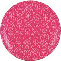 PLATE SALAD 8IN BRIGHT PINK