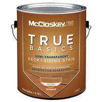 Mccloskey 14302 True Basics Exterior Acrylic Stain