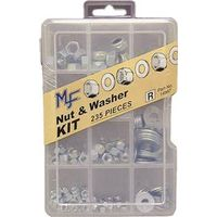 Midwest 14997 Assorted Nut and Washer Kit