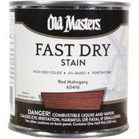 STAIN OB FAST DRY RED MAHOGANY