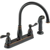 Delta Windemere Kitchen Faucet With Side Sprayer