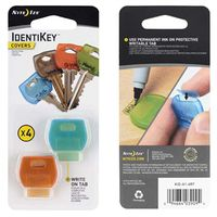 KEY COVERS ASSORTED 4PK