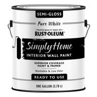 PAINT WALL SMGLO PURE WHT 1GAL