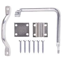 LATCH BAR GATE HD ZN PLTD