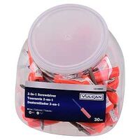 SCREWDRIVER 2-N-1 TUB 30PC