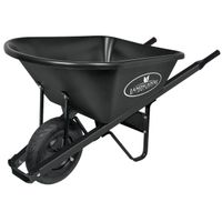 WHEELBARROW POLY TRAY 6 CUB FT