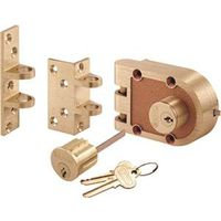 Prime-Line SE 19361 Double Cylinder Jimmy Proof Deadbolt