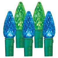 LIGHT SPOOL C6 LED BLUE/GR