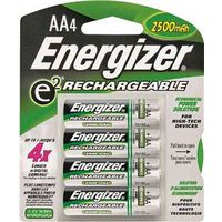 BATTERY RECHARGE NIMH 4PACK AA