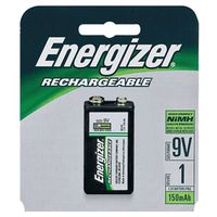 BATTERY RECHARGEABLE NIMH 9V