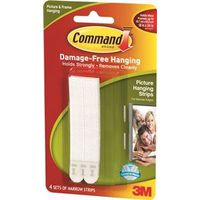 Command 17207 Narrow Picture Hanging Strip