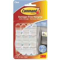 Command 17210CLR Fridge Clip