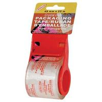 TAPE CLEAR 48MM X20M DISPENSER