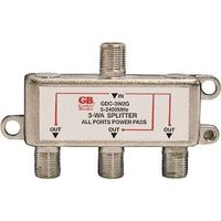 Gardner Bender GDC-3W2G 3-Way Satellite/Digital TV Splitter