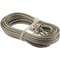 Steel Galvanized Prime-Line GD 52100 Extension Spring//Cable 1//8 in Od X 12 Ft L