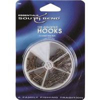 FISHING HOOKS ASST W/CLEAR BOX