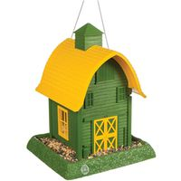 FEEDER BIRD BARN GREEN