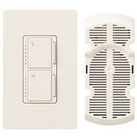 Lutron Maestro MA-LFQHW-WH Fan Light Switch