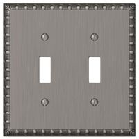 Amerelle Renaissance 2-Toggle Wall Plate