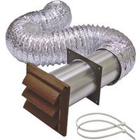 Lambro 1379B Louvered Dryer Vent Kit