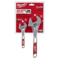 WRENCH SET ADJ 6 & 10IN 2PC