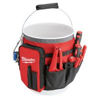 BAG ORGANIZER BUCKET RED/BLACK