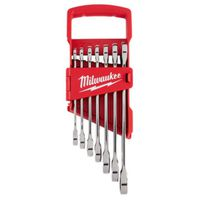 WRENCH SET COMBO RCHTNG SAE