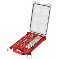 SOCKET/RATCHET SET W/ORG 28PC