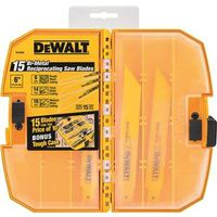 Dewalt DW4890 Bi-Metal Reciprocating Saw Blade Set