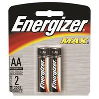BATTERY MAX AA ALKALINE 2PK