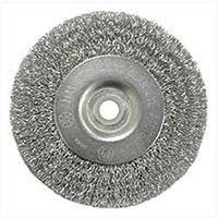 Weiler 36402 Coarse Grade Crimped Wire Wheel Brush