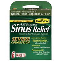 SINUS MED MULTI-SYMPTOM 6CT